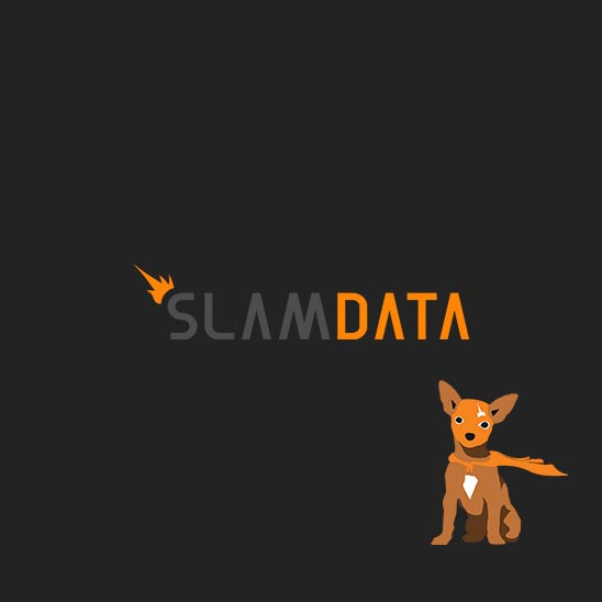 slam data logo